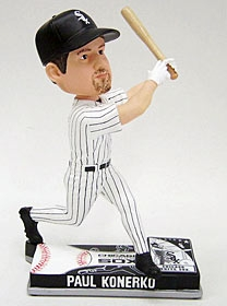 Chicago White Sox Paul Konerko On Field Bobble Head