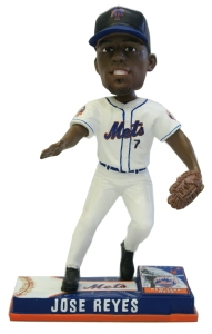 New York Mets Jose Reyes On Field Bobble Head