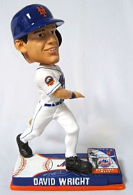 New York Mets David Wright On Field Bobble Head