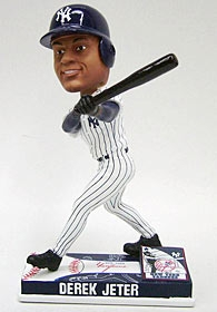 New York Yankees Derek Jeter On Field Bobble Head