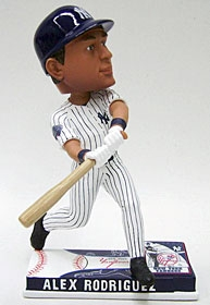 New York Yankees Alex Rodriguez On Field Bobble Head