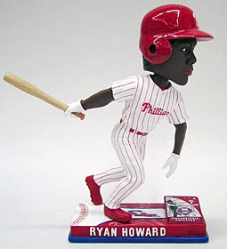 Philadelphia Phillies Ryan Howard On Field Bobble Head