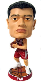 Houston Rockets Yao Ming Phathead Bobble Head