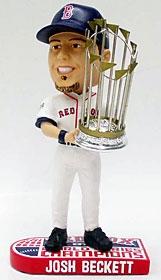 Boston Red Sox Josh Beckett 2007 World Series Champion Bobble Head