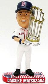 Boston Red Sox Daisuke Matsuzaka 2007 World Series Champion Bobble Head
