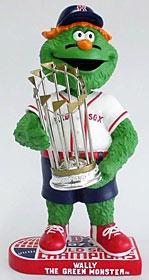 Boston Red Sox Mascot 2007 World Series Champion Bobble Head