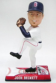 Boston Red Sox Josh Beckett On Field Bobble Head