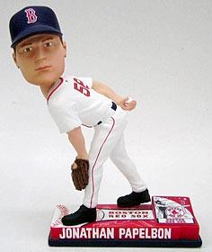 Boston Red Sox Jonathan Papelbon On Field Bobble Head
