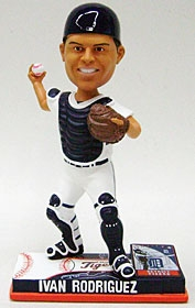 Detroit Tigers Ivan Rodriguez On Field Bobble Head