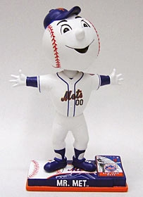 New York Mets Mascot On Field Bobble Head