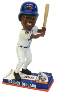 New York Mets Carlos Delgado On Field Bobble Head