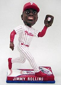 Philadelphia Phillies Jimmy Rollins On Field Bobble Head