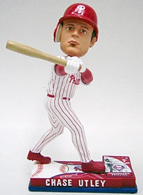 Philadelphia Phillies Chase Utley On Field Bobble Head