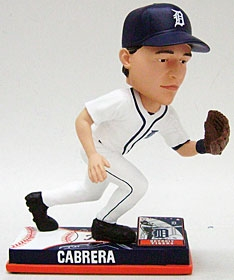 Detroit Tigers Miguel Cabrera On Field Bobble Head