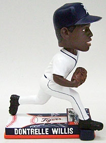 Detroit Tigers Dontrelle Willis On Field Bobble Head