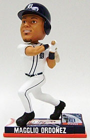 Detroit Tigers Magglio Ordonez On Field Bobble Head