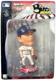 "Boston Red Sox Jonathan Papelbon 3.5"" Mini Big Head Bobble Head"