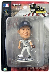 "New York Yankees Joba Chamberlain 3.5"" Mini Big Head Bobble Head"