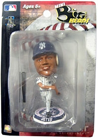 "New York Yankees Derek Jeter 3.5"" Mini Big Head Bobble Head"