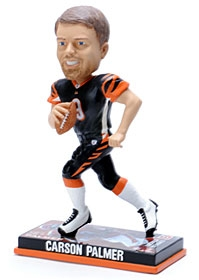 Cincinnati Bengals Carson Palmer Photo Base Bobble Head