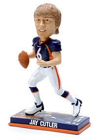 Denver Broncos Jay Cutler Photo Base Bobble Head