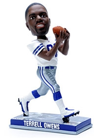 Dallas Cowboys Terrell Owens Photo Base Bobble Head