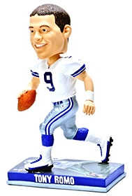 Dallas Cowboys Tony Romo Photo Base Bobble Head