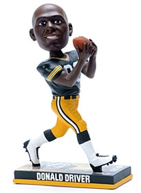 Green Bay Packers Donald Driver Photo Base Bobble Head