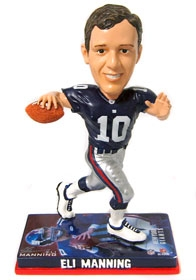 New York Giants Eli Manning Photo Base Bobble Head