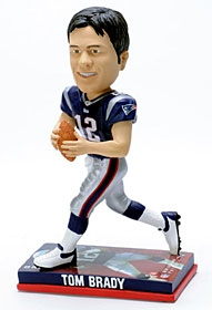 New England Patriots Tom Brady Photo Base Bobble Head