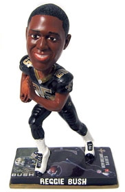New Orleans Saints Reggie Bush Photo Base Bobble Head