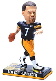 Pittsburgh Steelers Ben Roethlisberger Photo Base Bobble Head