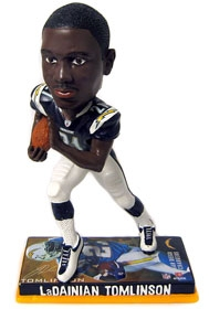 San Diego Chargers LaDainian Tomlinson Photo Base Bobble Head