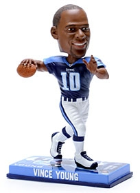 Tennessee Titans Vince Young Photo Base Bobble Head