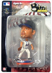 "New York Mets Johan Santana 3.5"" Mini Big Head Bobble Head"