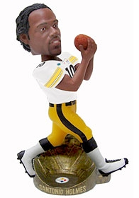 Pittsburgh Steelers Santonio Holmes Super Bowl 43 MVP Bobble Head