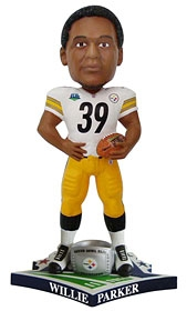 "Pittsburgh Steelers Willie Parker Super Bowl 43 Champion ""Ring"" Bobble Head"