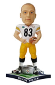 "Pittsburgh Steelers Heath Miller Super Bowl 43 Champion ""Ring"" Bobble Head"