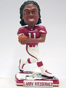 Arizona Cardinals Larry Fitzgerald Helmet Base Bobble Head