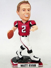 Atlanta Falcons Matt Ryan Helmet Base Bobble Head