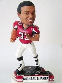 Atlanta Falcons Michael Turner Helmet Base Bobble Head