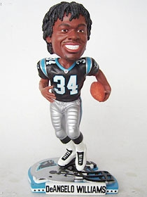 Carolina Panthers DeAngelo Williams Helmet Base Bobble Head