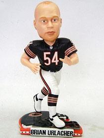 Chicago Bears Brian Urlacher Helmet Base Bobble Head