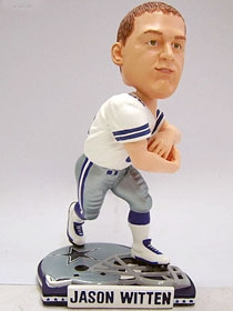 Dallas Cowboys Jason Witten Helmet Base Bobble Head