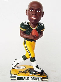 Green Bay Packers Donald Driver Helmet Base Bobble Head