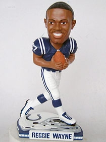 Indianapolis Colts Reggie Wayne Helmet Base Bobble Head