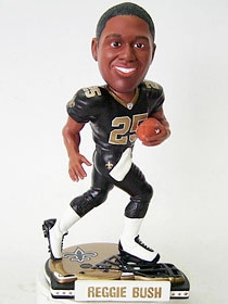 New Orleans Saints Reggie Bush Helmet Base Bobble Head