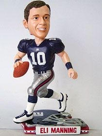 New York Giants Eli Manning Helmet Base Bobble Head