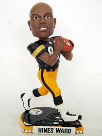 Pittsburgh Steelers Hines Ward Helmet Base Bobble Head