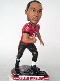 Tampa Bay Buccaneers Kellen Winslow Helmet Base Bobble Head